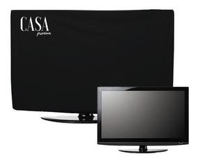 Capa Proteção Tv Monitor 32 Pol. Led Lcd Suspensa Na Parede