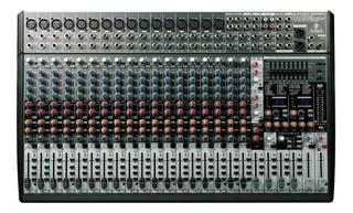 Mezcladora Behringer Eurodesk Sx2442fx 24 Canales