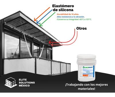 Elastómero De Silicona Y Impermeabilizante Prefabricado