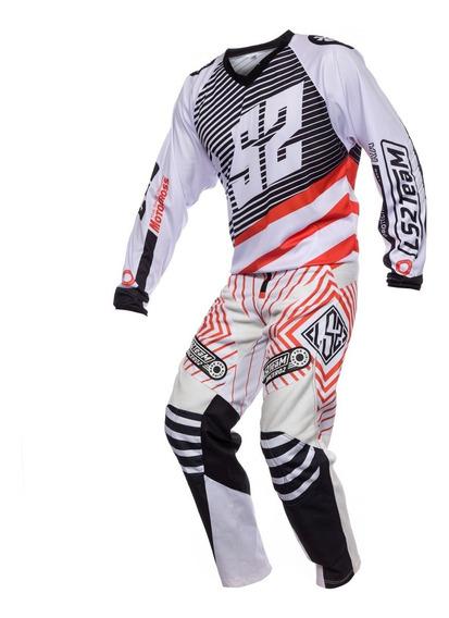 Equipo Motocross Competicion Ls2 Remera Y Pantalon Cuotas
