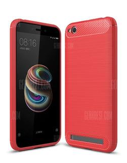 Capa Xiaomi Redmi 5a Tela 5.0 Vermelha
