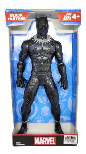 Marvel Vingadores E5556 Hasbro Boneco Pantera Negra 25cm