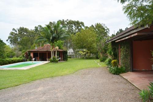 Imagem 1 de 15 de Linda Chácara Jardim Piscina Casa Grande Cabana Açude Eucaliptos - 95265