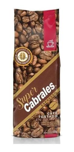 Imagen 1 de 7 de Cafe Grano Super Cabrales Espresso 1kg Tostado