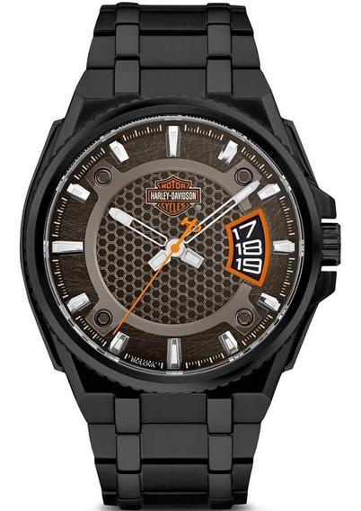 Reloj Harley Davidson Para Hombre Original By Bulova 78b151