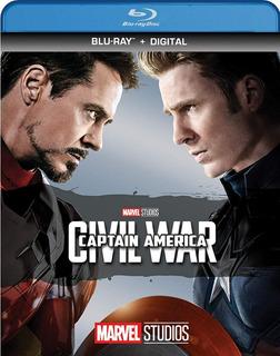 Blu-ray Captain America Civil War / Capitan America 3