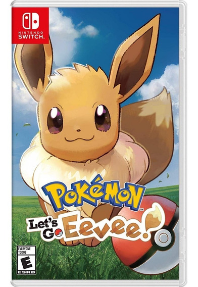 Pokemon: Lets Go Eevee - Switch Mídia Física Lacrada