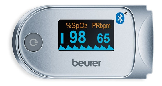 Oxímetro De Pulso Bluetooth Ipo61 Beurer + Envió Gratis !!!