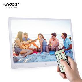 Digital Foto Quadro Andoer 15-inch Ue Branco
