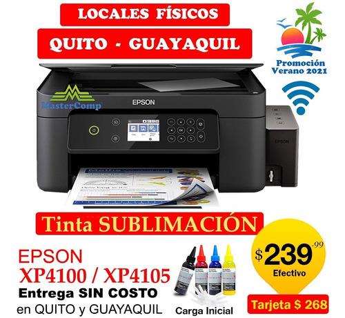 Imagen 1 de 5 de Impresora Epson Xp4100 Tinta De Sublimación Wf2830 Wf7210 A3