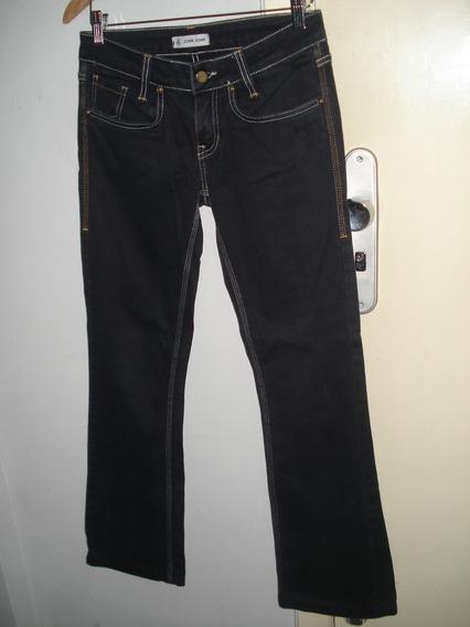 Calça Jeans Chumbo Escura John John 36 Usada Flare Ótima