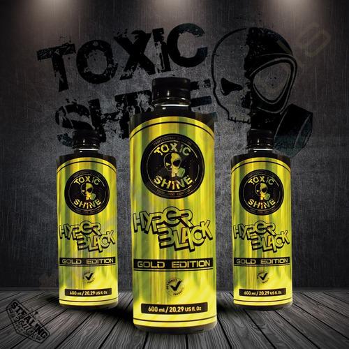 Imagen 1 de 6 de Toxic Shine | Hyper Black Gold Edition | Shampoo | 600cc