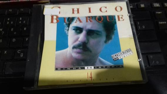 Cd Chico Buarque - Minha Historia - Original