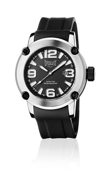 Relógio Pulso Masculino Everlast Pulseira Silicone E10430