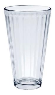 Vaso De Cristal 12 Pz. + Regalo Decorativo.