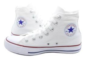 Tênis Converse All Star Cano Alto Branco + Frete Grátis