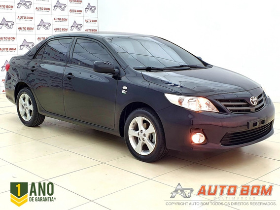 Toyota Corolla Gli 1.8 16v 144cv C/ Bancos Em Couro 2014