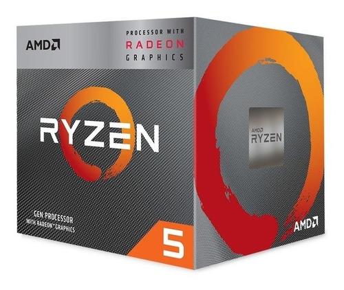Processador Amd Ryzen 5 3400g 4.2ghz Max Turbo 6mb Cache Am4