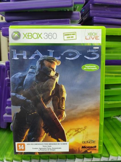 Jogo Halo 3 Xbox 360, Mídia Física, Usado