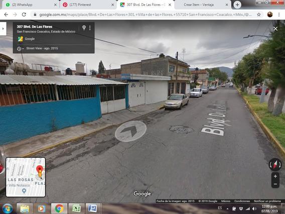 Casa En Remate Bancario Blv. De Las Flores Coacalco