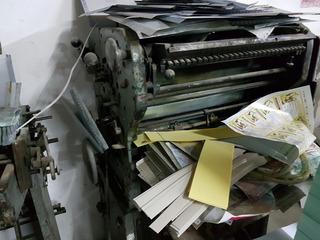 Impresora Cabrenta 560 Dobladora Shoeil Y Impresora Tipograf