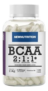 Bcaa 3800 Newnutrition 120 Cápsulas - Melhor Preço!