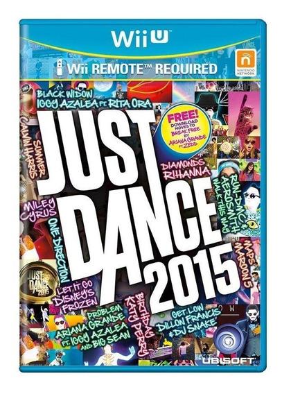 Just Dance 2015 Wii U Mídia Física Pronta Entrega