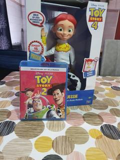 Muñeca Disney Toy Story Vaquerita Jessie 15 Frases +dvd Ts2
