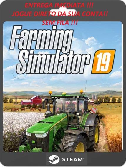 Farming Simulator 19 Para Computador Na Sua Conta Steam.
