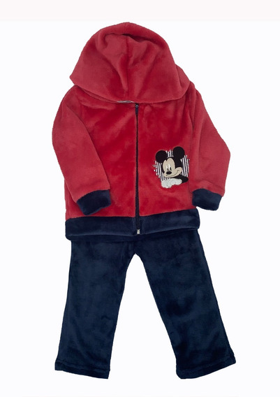 Conjunto Con Gorro Bordado Disney Mickey