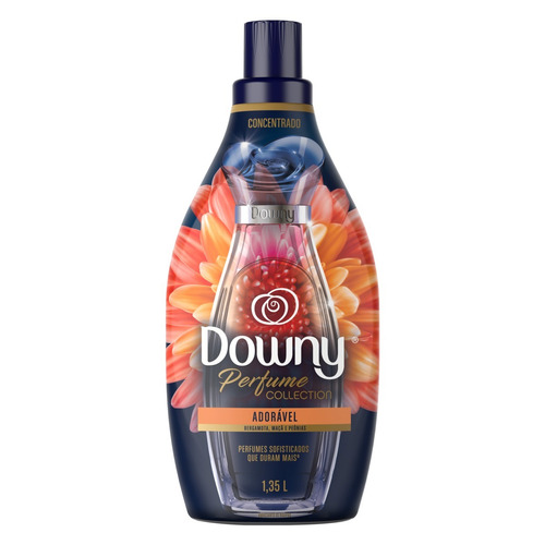 Amaciante Downy Perfume Collection Adorável em frasco 1.35 L