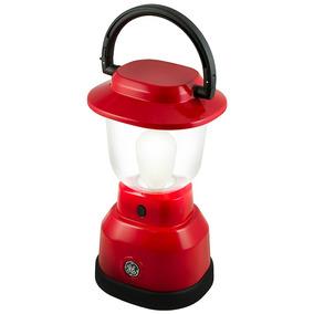 Lampião Led Ge Vermelho, Ultra Resistente, 350 Lumens