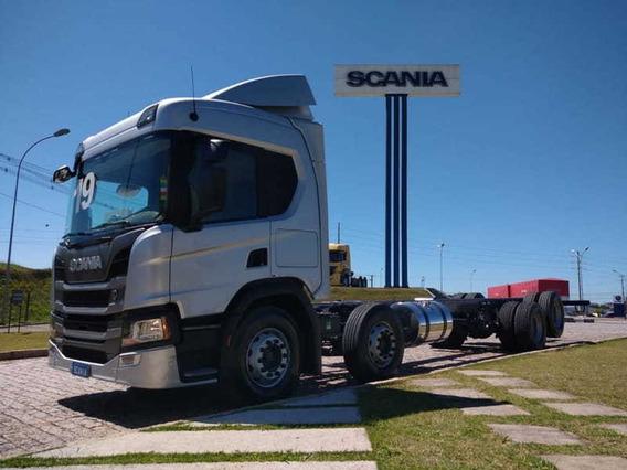 Scania P 320 No Chassi, 8x2, 2019 Scania Seminovos Pr 6