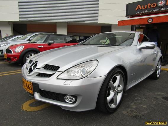 Mercedes Benz Clase Slk Slk 200 1.8 Mt Convertible