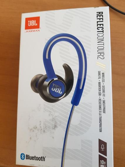 Fone De Ouvido Jbl Reflect Contour 2 Bluetooth Azul