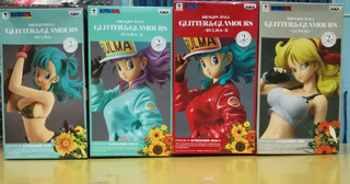 Dragon Ball Banpresto, Bulma Y Lunchi, Lote