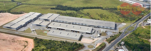 Galpão Industrial - Condomínio Bussiner Park Jundiai - Ga0076