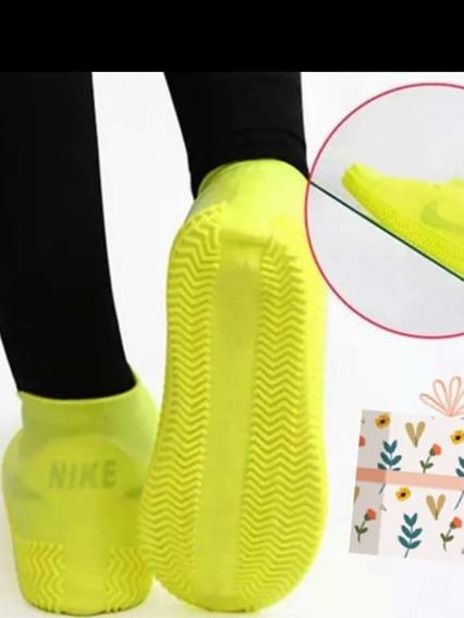 Cubre Zapato Protector De Calzado Para Lluvia Impermeable