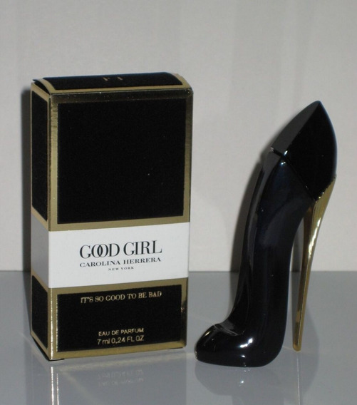 Perfume Miniatura Good Girl Edp (toda Preta) Ch Linda!lançamento!