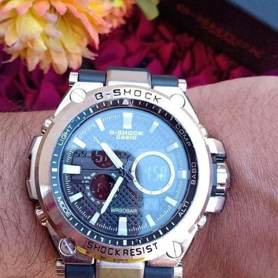 Relógio G Shock Aço Masculino