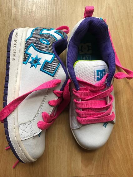 Zapatillas Dc Niña.N: 35 Eur/ 4.0 Usa/ 23cm