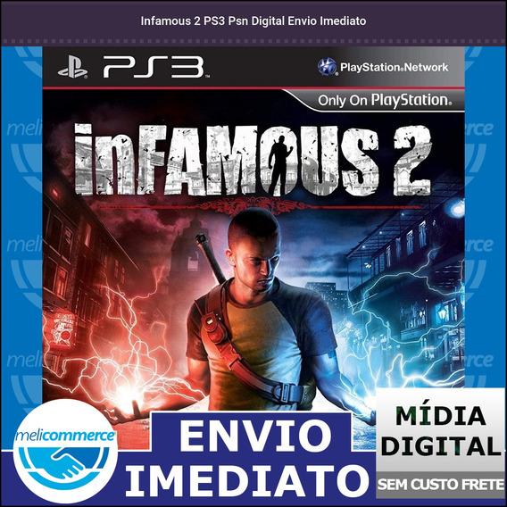 Infamous 2 Ps3 Psn Digital Envio Imediato