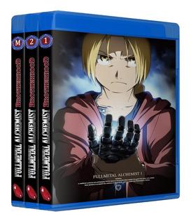 Fullmetal Alchemist Brotherhood + Ovas E Filme Em Bluray