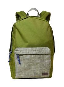 Mochila Hollister By Abercrombie E Fitch 100% Original Verde
