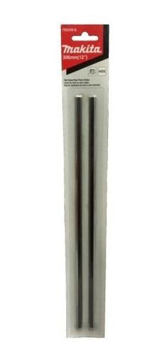 Imagen 1 de 6 de  Cuchillas Para Cepillo Makita 2012nb 306mm