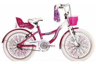 Bicicleta Raleigh Rodado 20 Aluminio Nuevas Nena Jazzi Rosa