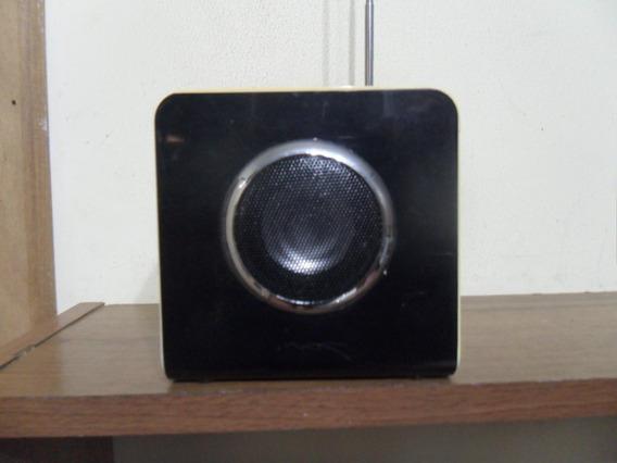 Caixinha De Som Portátil - Celular, Mp3, Cartão Sd E Entrada
