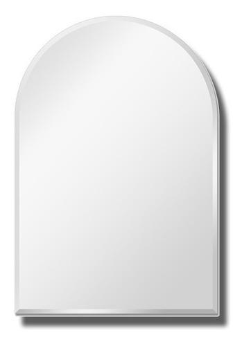 Espejo Capilla 50 X 60 Cm Bordes Biselados Vidrio Baño
