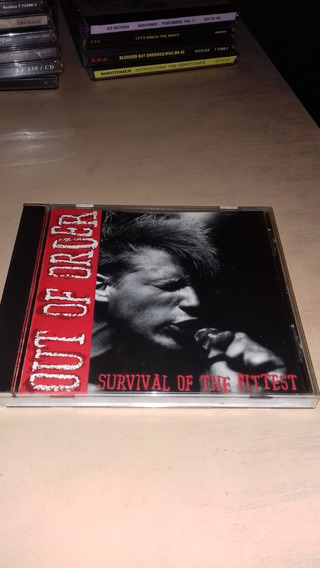 Out Of Order - Cd Survival Of The Fittest