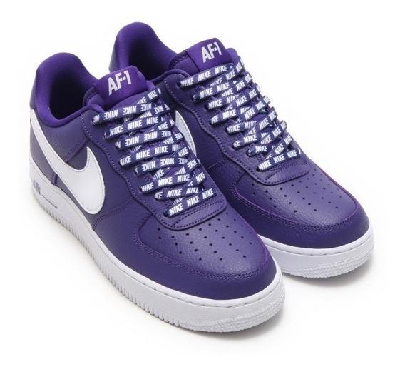 Nba Pack X Nike Air Force 1 Purple Vuelta Town Sneakers